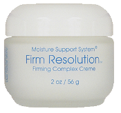 The Moisture Support System® Firm Resolution Creme