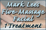 Mark Lees Five-Massage Facial- 1 Treatment