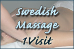 Swedish Massage- 1 Visit