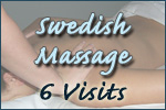 Swedish Massage- 6 Visits